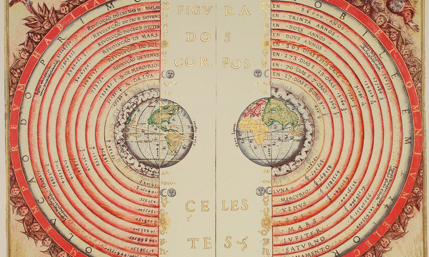 The Ptolemaic Geocentric system. <em>Photo courtesy Wikimedia</em>