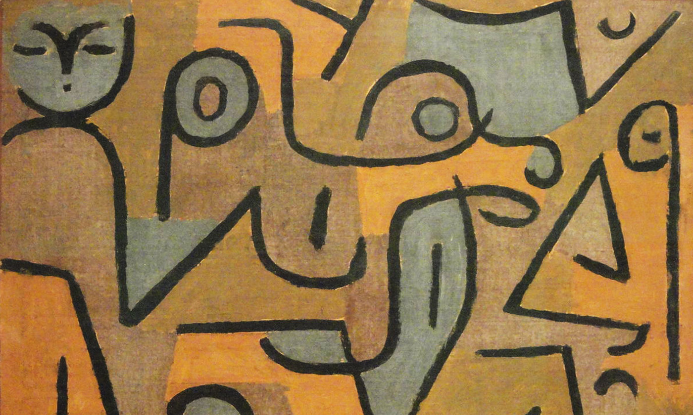 <p>Detail from <em>Young Moe</em> (1938) by Paul Klee. <em>Courtesy Phillips collection/Wikipedia</em></p>