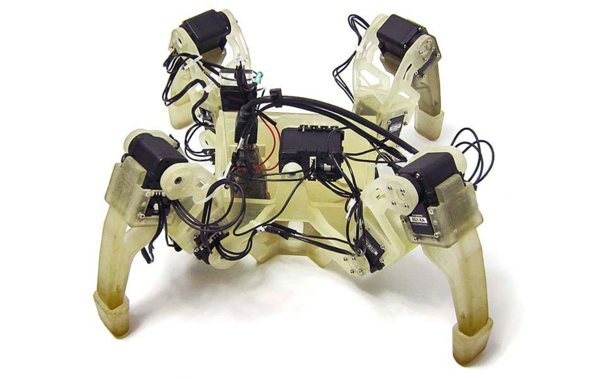 Robot evolution | Aeon