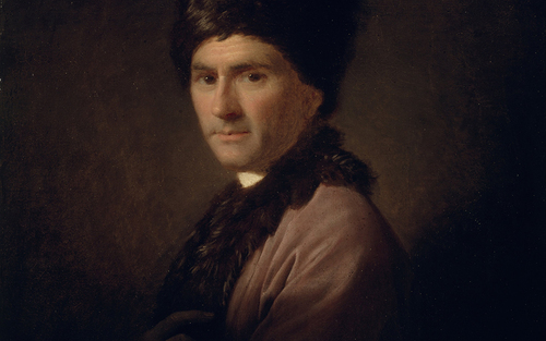 Card allan ramsay   jean jacques rousseau  1712   1778    google art project