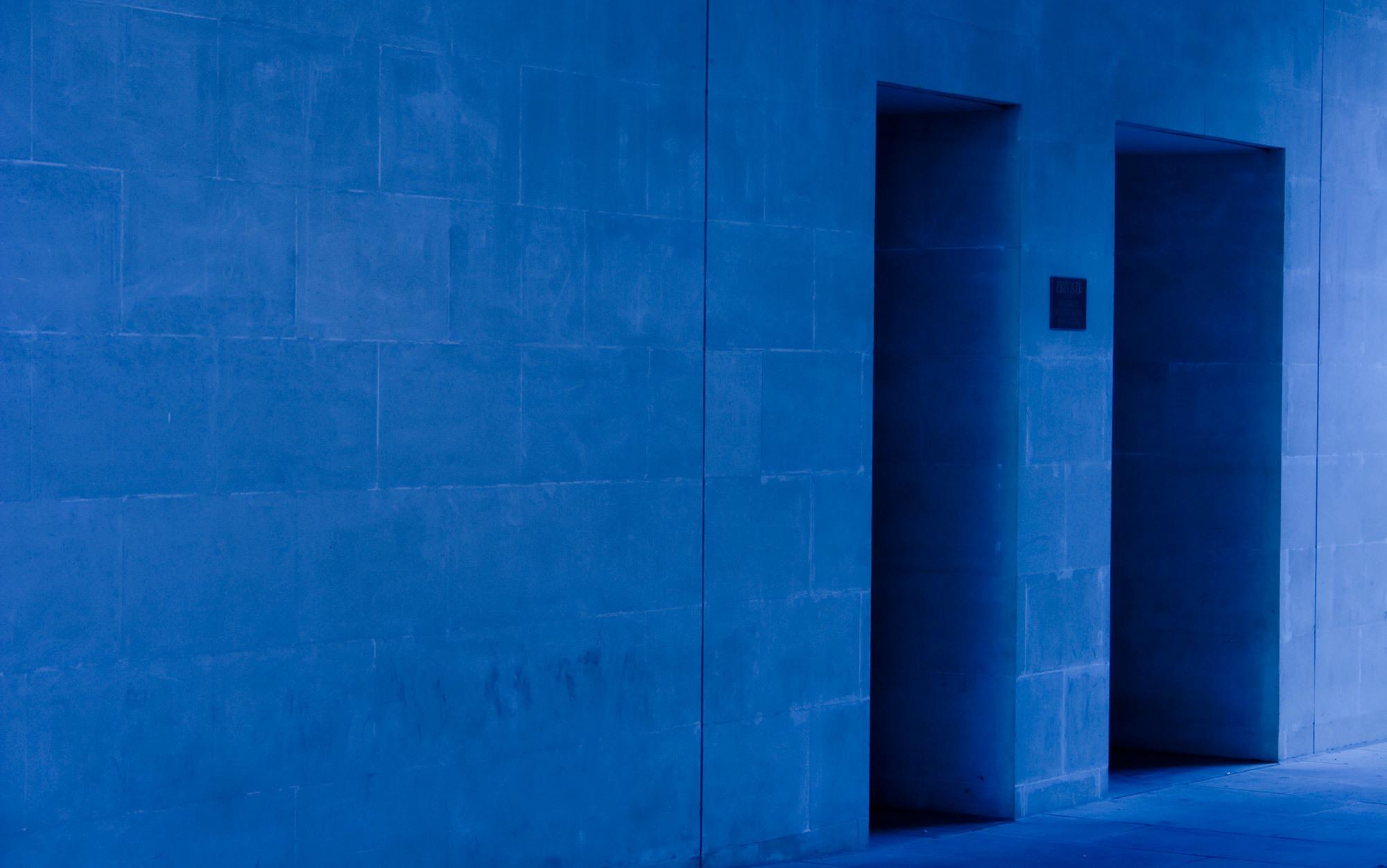 Through two doors | Aeon