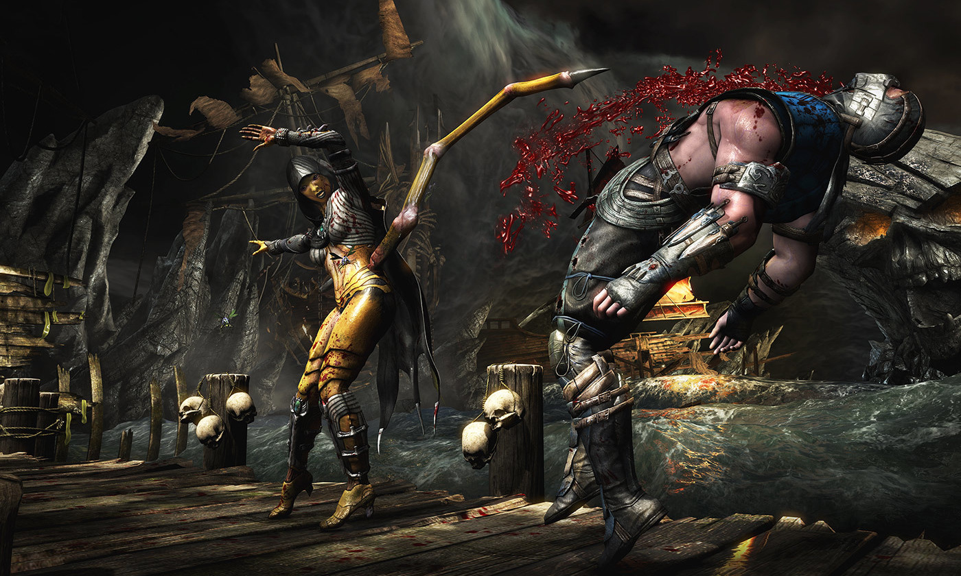 <p>Mortal Kombat X <em>Courtesy NetherRealm Studios/Warner Bros. Interactive Entertainment.</em></p>