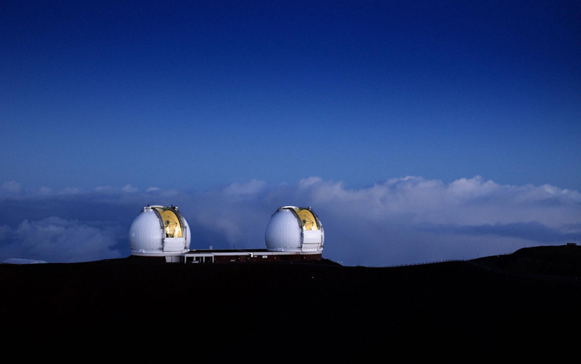 Header keck telescopes