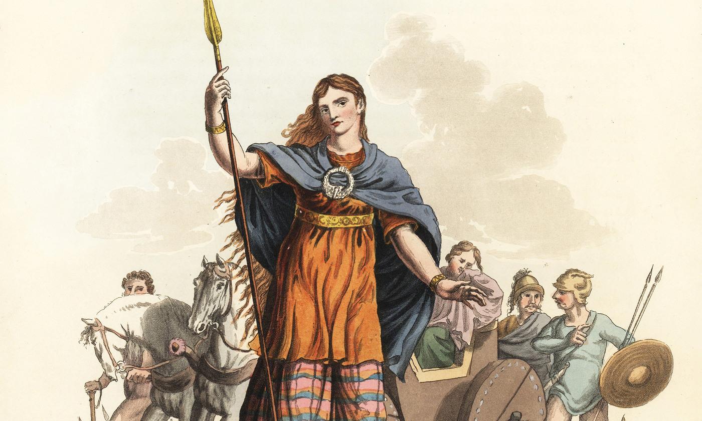Boudica the warrior queen   Aeon