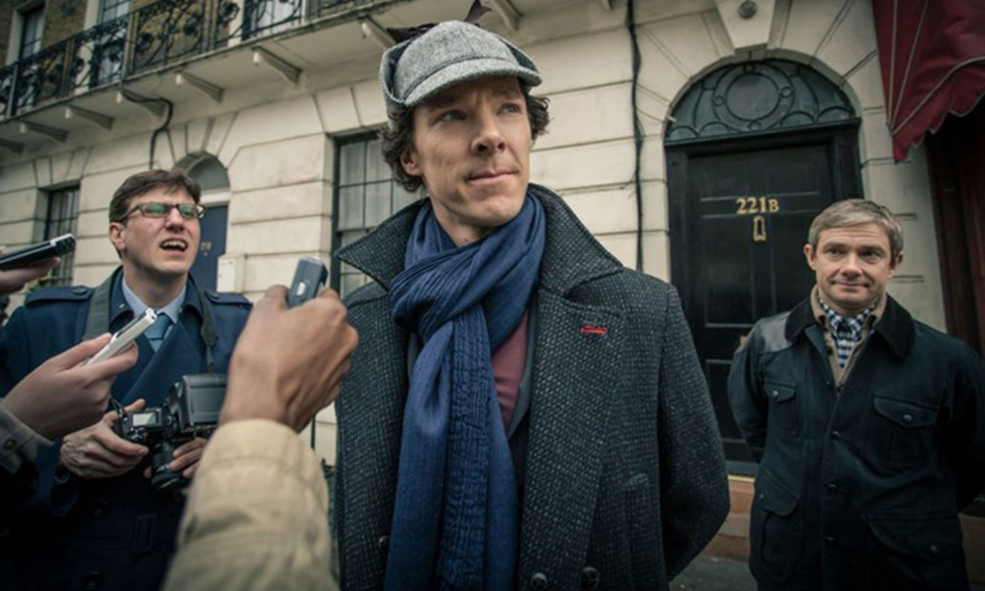 <p>Benedict Cumberbatch says playing Sherlock Holmes affects his off-screen persona. <em>Photo courtesy BBC/Hartswood Films</em></p>