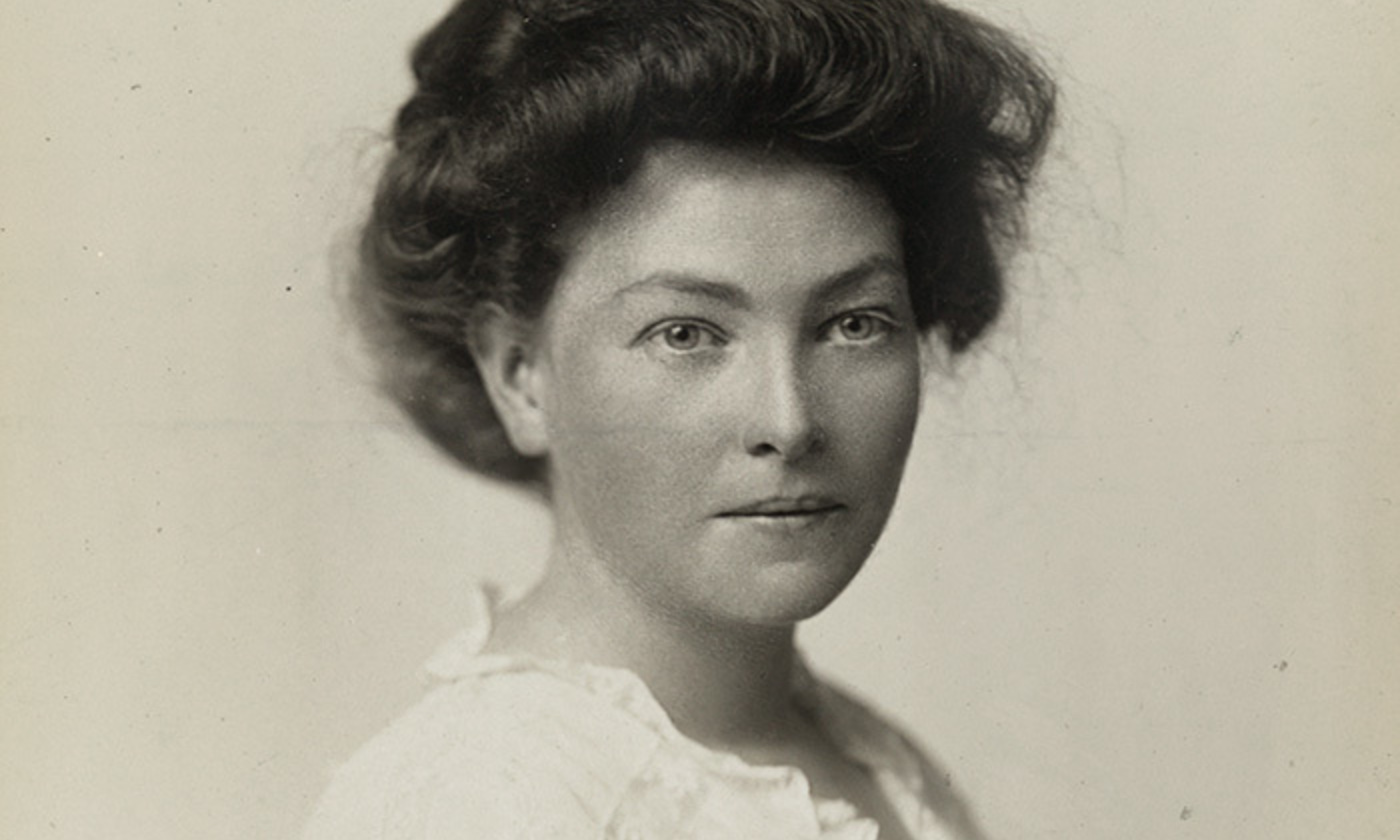Portrait of Mary Brennan, suffragist and member of the National Womens Party, ca. 1910-1920. <em>Courtesy Library of Congress</em>