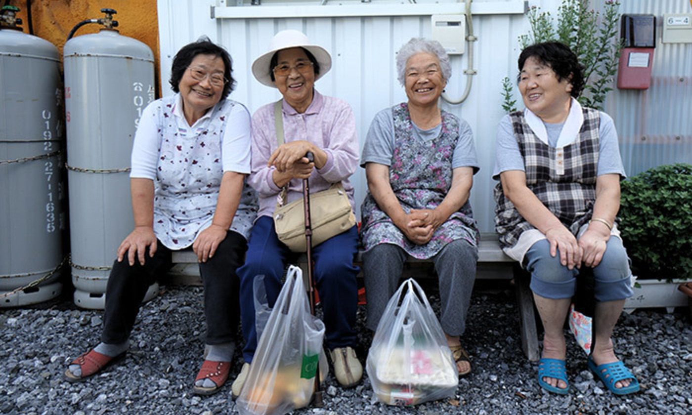 Elderly Japanese ladies. <em>Photo by Mr Hick46/Flickr</em>