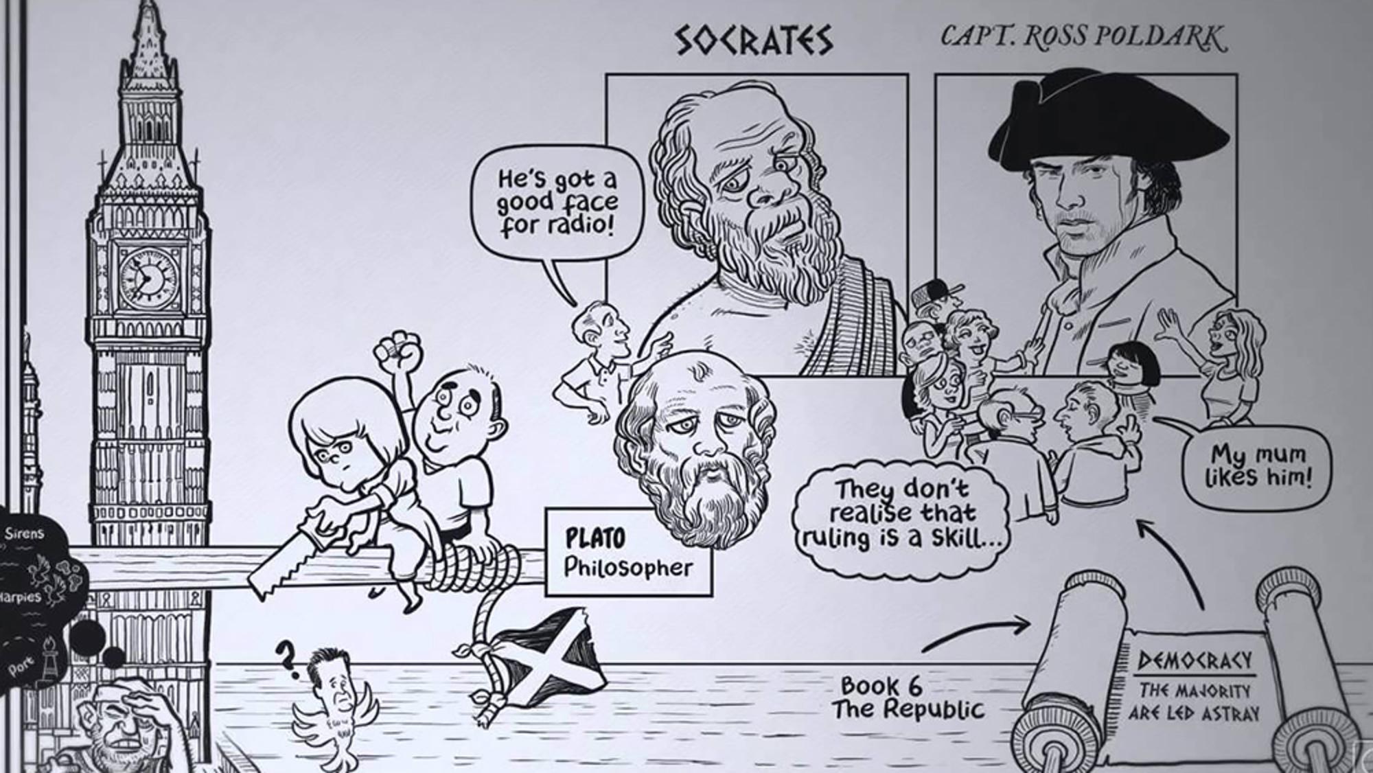 Plato's moral philosophy essay