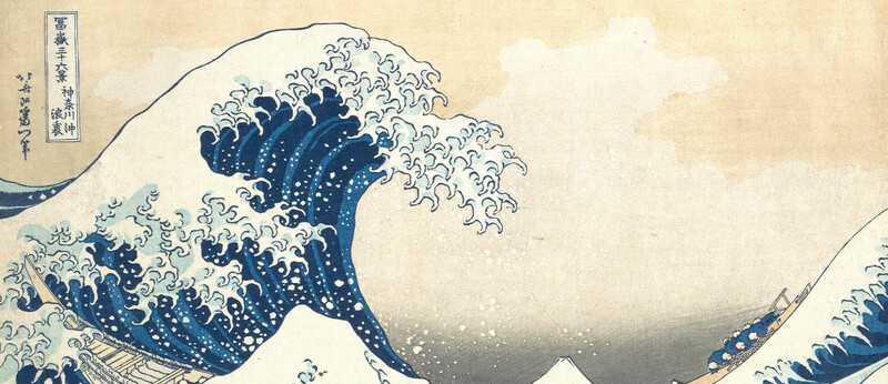 The Great Wave by Hokusai   Aeon Videos