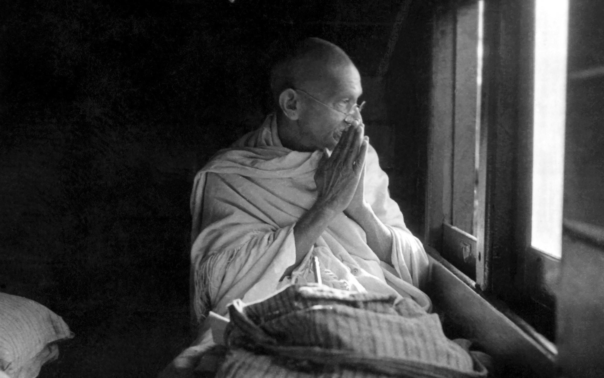 Gandhi the philosopher   Aeon