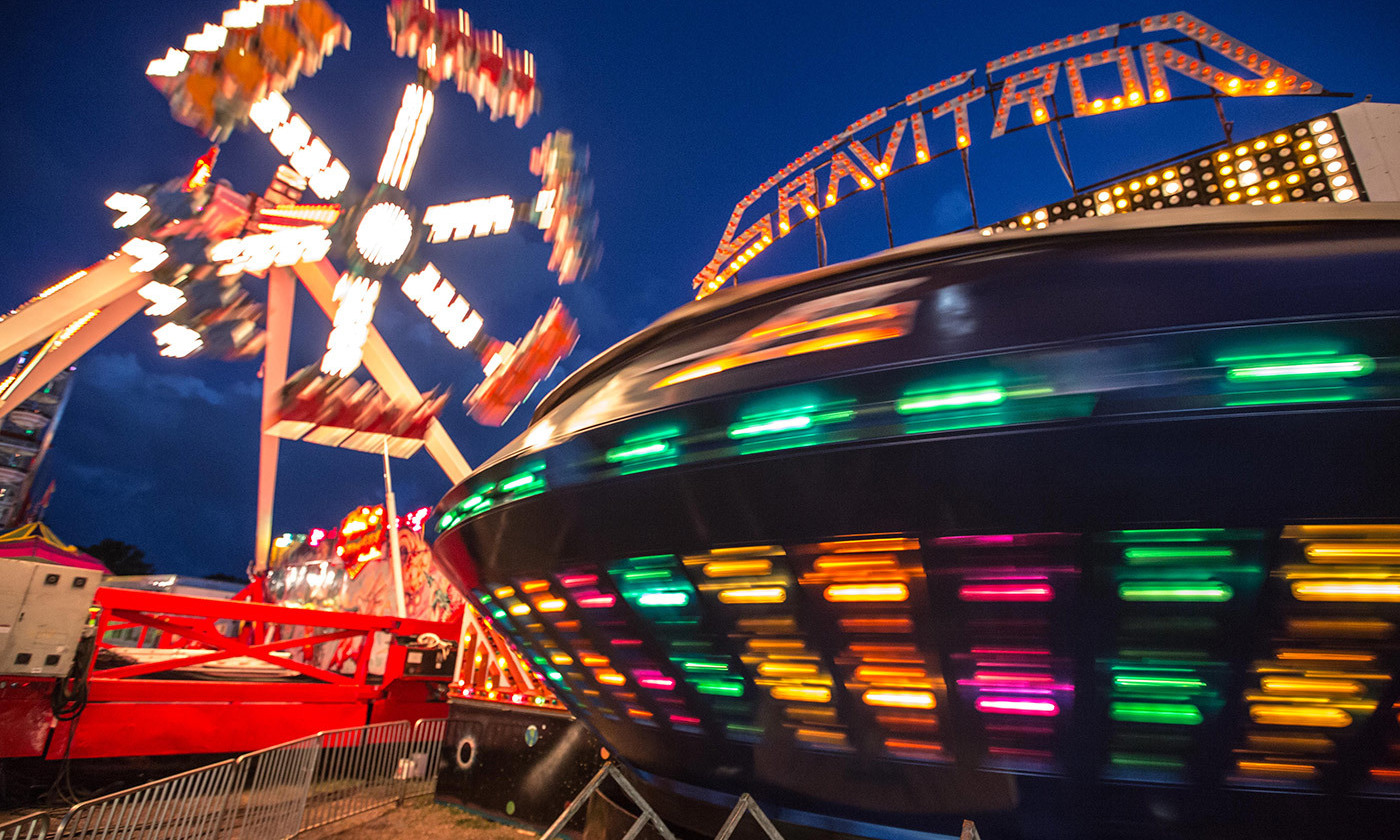 <p>Dare you ride the <em>Gravitron</em>? <em>Photo by Daniel X O'Neill/Flickr</em></p>