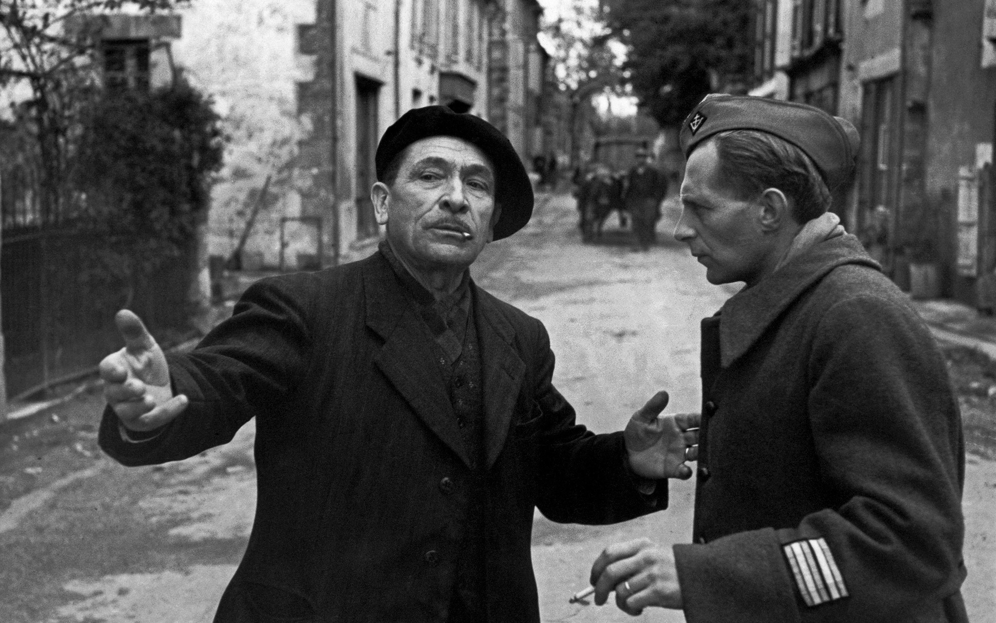 Resultado de imagem para The chéf of the Resistance Photo by Henri Cartier-Bresson/Magnum