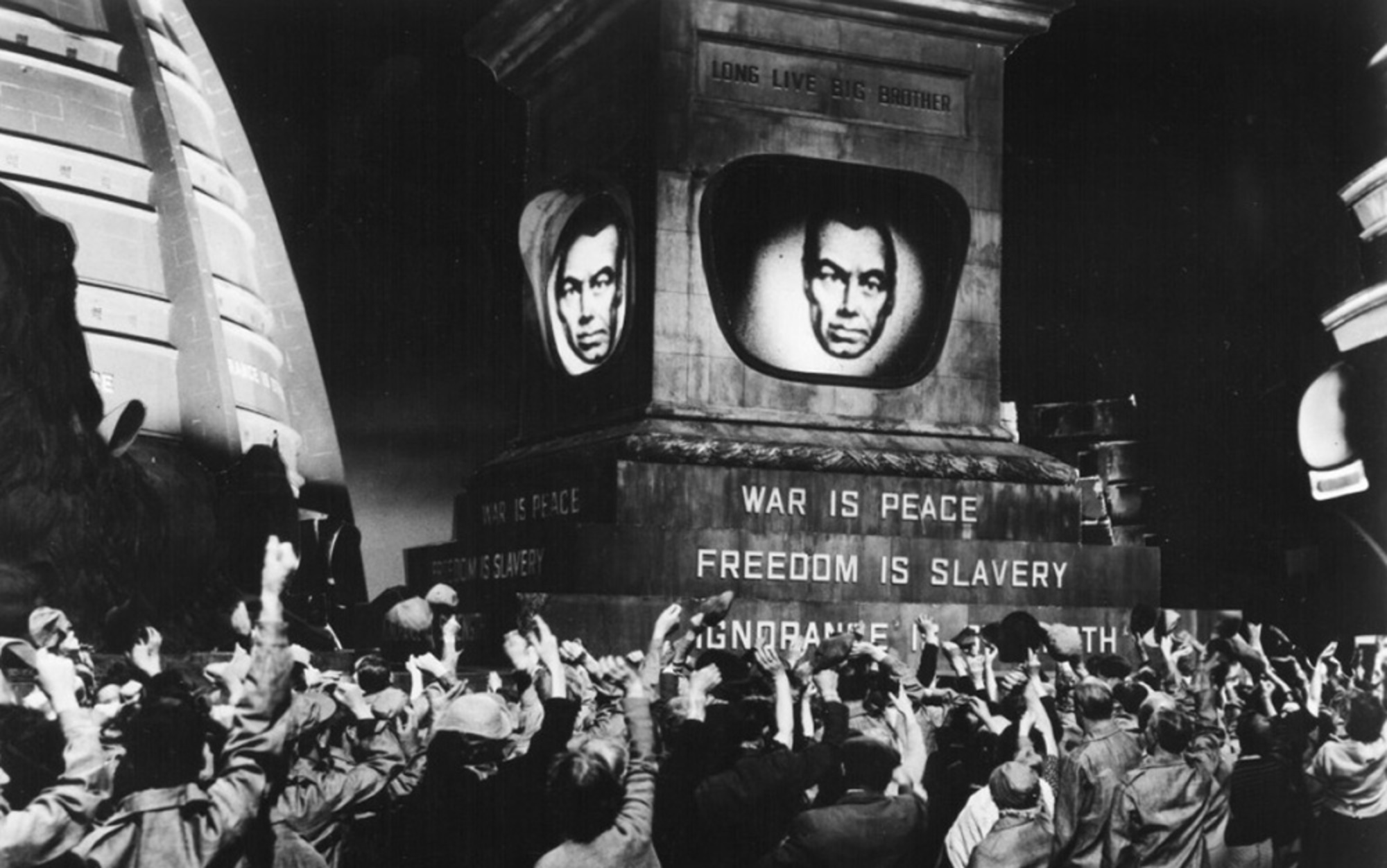 1984 essays technology To the surprise of absolutely no one, george orwell is everywhere these days  his seven-decade-old dystopian classic, 1984, recently made.